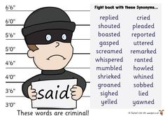 Teacher's Pet – Ideas & Inspiration for Early Years (EYFS), Key Stage 1 (KS1) and Key Stage 2 (KS2) | Criminal Words