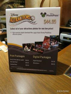 The Walt Disney World Attractions+ PhotoPass Product
