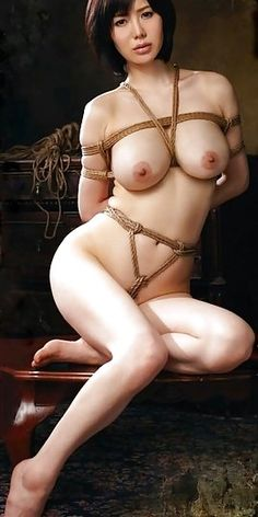 Girl nude asian tied