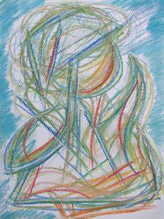 Waving hand #art #pastels #drawing #figure #happy