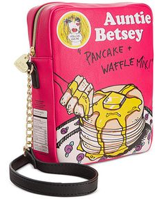 Betsey Johnson Pancake Mix Crossbody - Betsey Johnson - Handbags & Accessories - Macy's