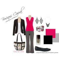 """""""Business Casual"""" by sarah-poitras on Polyvore"""