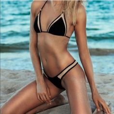 Black sexy bikini set New. Available in small medium and large Swim Bikinis