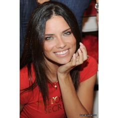 Adriana Lima ❤ liked on Polyvore featuring adriana lima