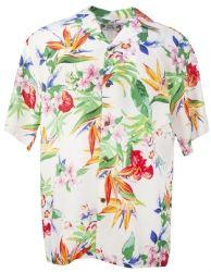 Passion Paradise Mens Hawaiian Aloha Shirt in White Paradise Clothing, Mens Hawaiian Shirts, Aloha Shirt, Clothing Co, Shirt Outfit, Men Casual, Passion, Mens Tops, Clothes
