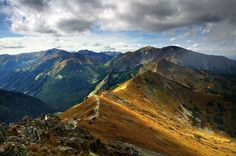 Czerwone Wierchy (Red Peaks), Tatra Mountains  #Poland #Tatry