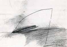 Gerhard Richter,  21.5.1986 (2), 1986, Graphite on paper, 21 cm x 29.7 cm