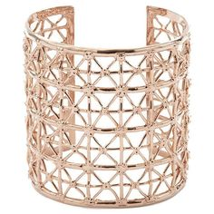 Co.Ro Gasometro Pink Gold Cuff ($320) ❤ liked on Polyvore featuring jewelry, bracelets, pink, pink jewelry, hinged cuff bracelet, cuff bangle, square bangles and rose gold bangle