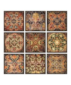 IMAX Tuscan Wall Panel - Set of Nine | zulily