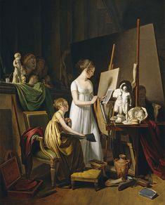 Oil On Canvas, Canvas Art, Canvas Prints, Art Prints, Blank Canvas, Painters Studio, Art Ancien, Atelier D Art, National Gallery Of Art