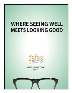 Gafas Optical Shop on Behance