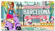 Barcelona - one of the destinations during Summer Party Tour 2011
