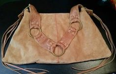 New Jill K. Bags Beautiful Tan Suede Hobo Handbag/Purse Upcycled $29.99  #eBay by #passion4goozies