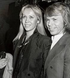Anna and Björn-The handsome ex-couple in Leysin, Abba Band, Frida Abba, Sweet Couple, King Queen, I Fall In Love, Handsome, Singer, Dance, History