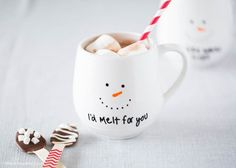 DIY Painted Mug gift idea – an easy and affordable way to make a personalized gift! These mugs make the perfect holiday gift for friends and family and are so fun to make! You can get creative with different styles and colors. The possibilities are endless! I made two different versions of the snowman mug. …