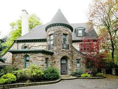 French Tudor Style Homes | norman style homes look like small castles ther are homes of this ...