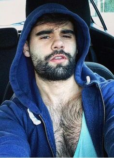 Behr-chested Hoodie