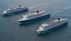 Cunard 2016, 2017 cruises includes nine maiden stops.