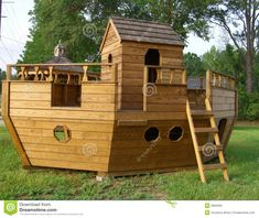 noah's+ark+wooden+playground+swing+set+pattern | Stock Photo: Noah s Ark Playground Equipmen