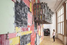 Installation view, folly, Phyllida Barlow, British Pavilion, Venice, 2017. Photo: Ruth Clark © British Council. Courtesy the artist and Hauser & Wirth. Phyllida Barlow's British Council commission is at the Biennale Arte 2017 from 13 May to 26 November. www.britishcouncil.org/venicebiennale.