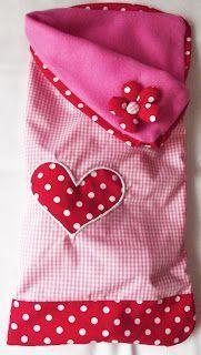 Sewing with love: Tutorial - baby sleeping bag