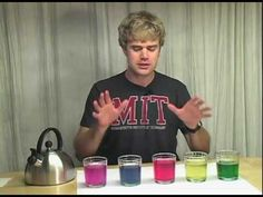 A Colorful Magic Trick with Acids and Bases