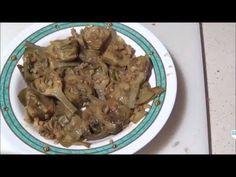 Alcachofas al Ajillo - YouTube