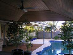 Patio roof shape option