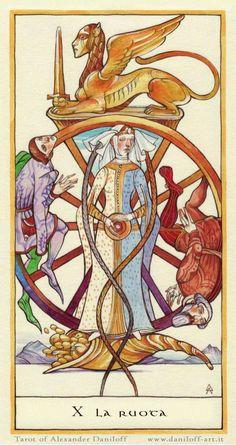 Wheel of Fortune - Tarot Alexander Daniloff Tarot