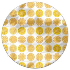 Uneekee Sun Of The East Round Tablecloth in Small