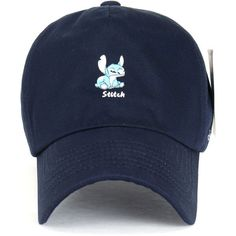Disney Lilo Stitch Cute Logo Cotton Adjustable Curved Hat Baseball Cap... (135 SEK) ❤ liked on Polyvore featuring accessories, hats, baseball hats, baseball cap, logo ball caps, adjustable hats and baseball caps hats
