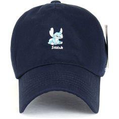 Disney Lilo Stitch Cute Logo Cotton Adjustable Curved Hat Baseball Cap... (135 SEK) ❤ liked on Polyvore featuring accessories, hats, baseball hats, baseball cap, logo ball caps, adjustable hats and baseball caps hats