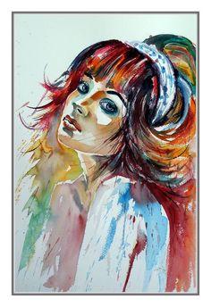 Lovely girl II by Kovács Anna Brigitta