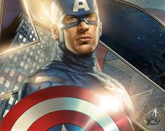 Captain America leader of the Avengers