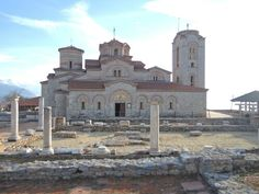 Church of St. Pantlejmon ,Plaošnik, Ohrid, FYR Macedonia interesting place full of history.