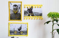 Façå-você-mesma: um jeito fofo e moderno de expor as fotos de família - dcoracao.com - blog de decoração