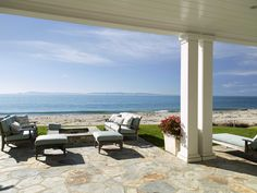 The home sits on the picturesque beaches of Santa Barbara. Padaro Lane is known for offering some of the most incredible beach locations in Santa Barbara Country.