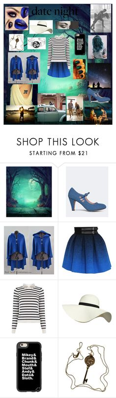 """""""Date Night: Hot Summer"""" by sydcoleman-star on Polyvore featuring J. Adams, JC de Castelbajac, Oasis, Pilot, Casetify, Tiffany & Co. and Bling Jewelry"""