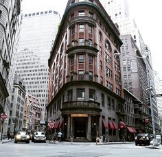 Delmonico's building at 2 South William Street (56 Beaver Street) | New York City