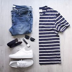 Stripes were the main trend of this past summer ✌️️ Follow: @votrends Outfit by: @minsookr