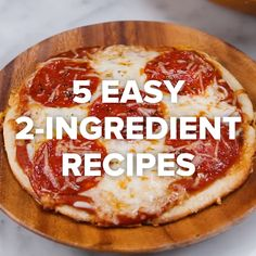 5 Easy Recipes - Essen - Appetizers for party 2 Ingredient Recipes, Cooking Recipes, Healthy Recipes, Easy Recipes, Cheese Recipes, Easy Cooking, Cooking Videos Tasty, Healthy Snacks, Microwave Recipes