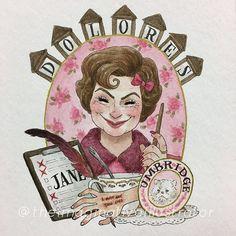 I FINALLY FINISHED IT. It only took me like forever #doloresumbridge #harrypotter #fanart #art #artwork #potterportraits #hogwarts #painting #drawing #gouache #watercolor #professorumbridge #theimaginativeillustrator #hpcdrawing