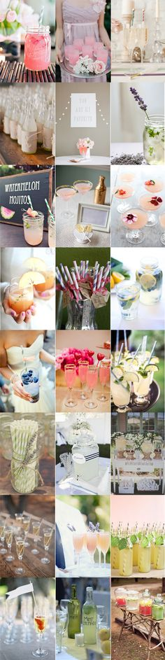Drinks styling via Noz-Moscada