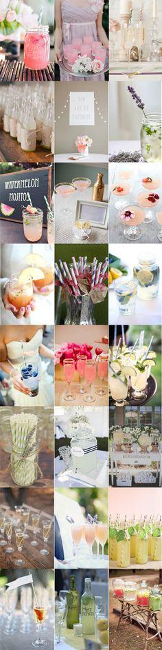 Wedding Drinks via Noz-Moscada
