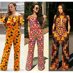 African fashion is available in a wide range of style and design. Whether it is men African fashion or women African fashion, you will notice. African Print Jumpsuit, African Print Dresses, African Dress, Ankara Jumpsuit, African Clothes, African Prints, African Attire, African Wear, African Women