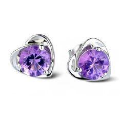 Sealike Super Cute Amethyst Purple Crystal Diamond Design Heart Shape Stud Earrings Jewelry Women Lady Girls with a Stylus Sealike http://www.amazon.com/dp/B00OPYXHAW/ref=cm_sw_r_pi_dp_8rD8vb0969RWD