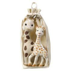Vulli Plush Sophie + Sophie the Giraffe