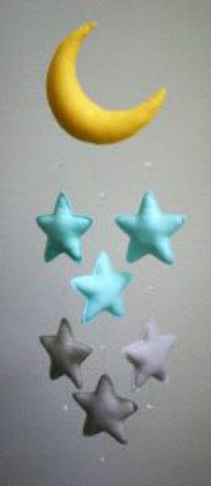 móbile lua e estrela