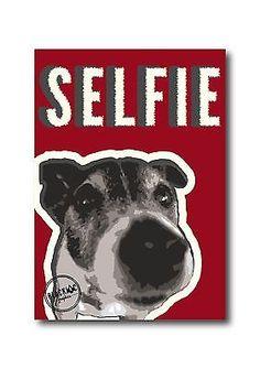 Jack Russell Selfie Red