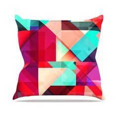 KESS InHouse Still New by Danny Ivan Throw Pillow Size: